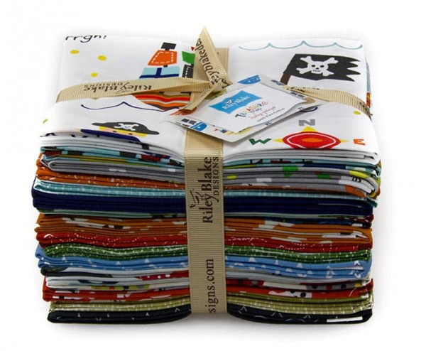 Riley Blake - Treasure Map Fat Quarter Bundle