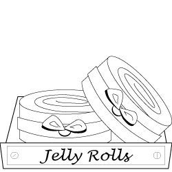 Große Auswahl an Jelly Rolls | MyQuiltshop.de