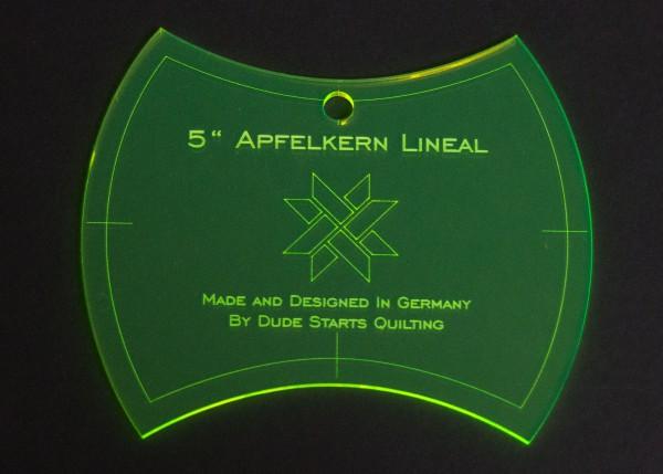 My Quiltshop - 5 Inch Apfelkern Lineal