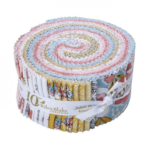 Riley Blake Petals and Pots Jelly Roll