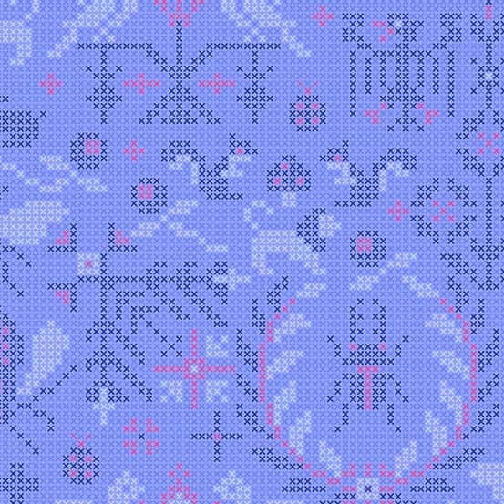 Menagerie Opal (A-9387-B) Sun Print 2020 von Alison Glass