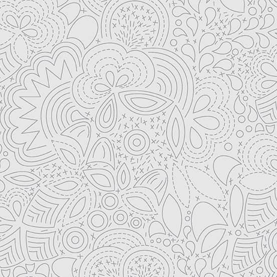 Stitched Shadow (A-8450-L1) Sun Print 2020 von Alison Glass