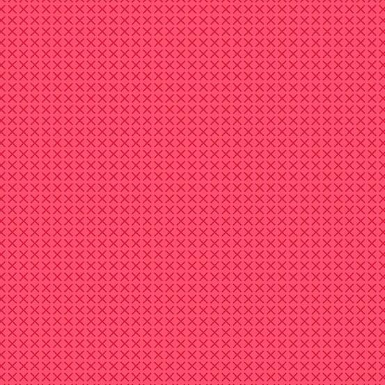 Cross Stitch Scarlet (A-9254-E2) von Alison Glass