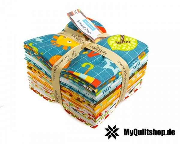 Riley Blake - School Days Fat Quarter Bundle