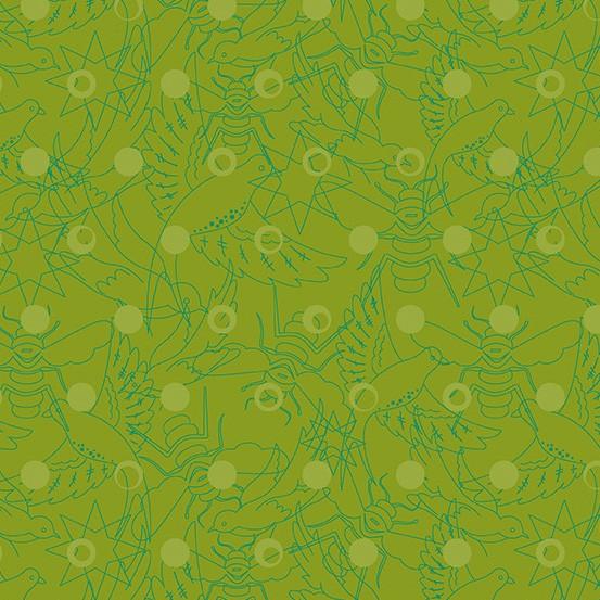 Pine Link (A-8484-G) Sun Print 2017 von Alison Glass