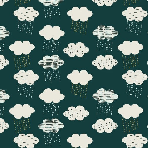 Midnight Garden Clouds (MID1634) von Dashwood Studio