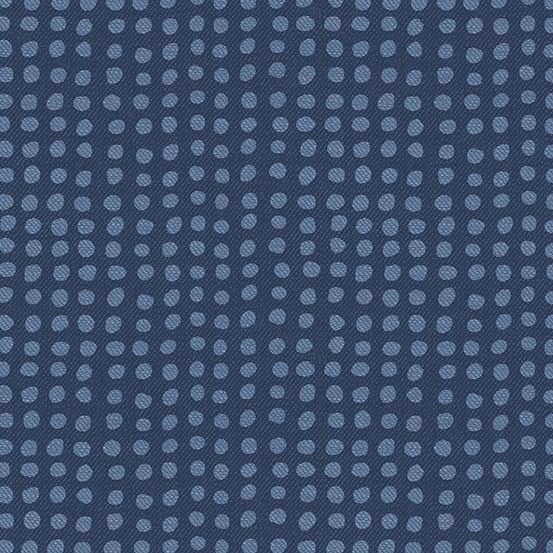 Dot Indigo (A-9350-B) Almost Blue von Libs Elliott