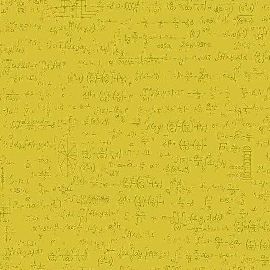 Color Theory Field Notes Mustard (A-9150-Y) von Andover Fabrics