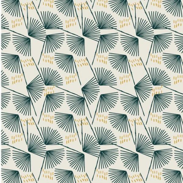 Midnight Garden Palm Leaves (MID1633) von Dashwood Studio