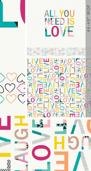 All You Need is Love (CAP-L-3009) von AGF Studio
