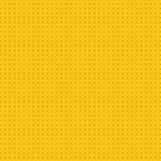 Cross Stitch Golden (A-9254-Y1) von Alison Glass
