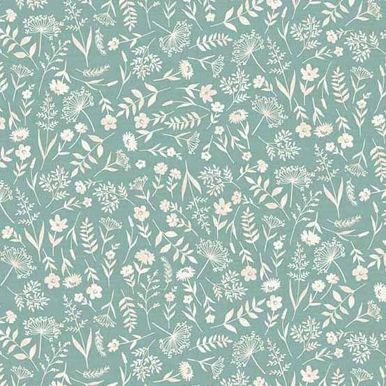 Woodland Scatter Turquoise (2061-T) von Makower