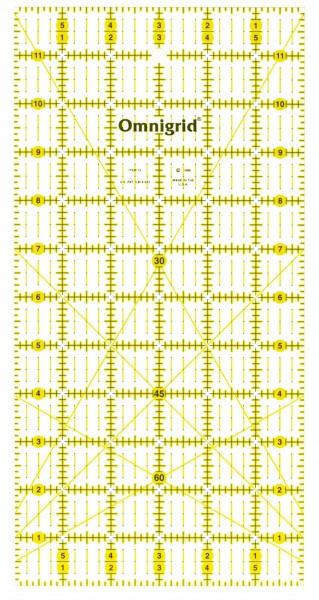 "Omnigrid - 6"" x 12"" Non Slip Präzisionslineal"