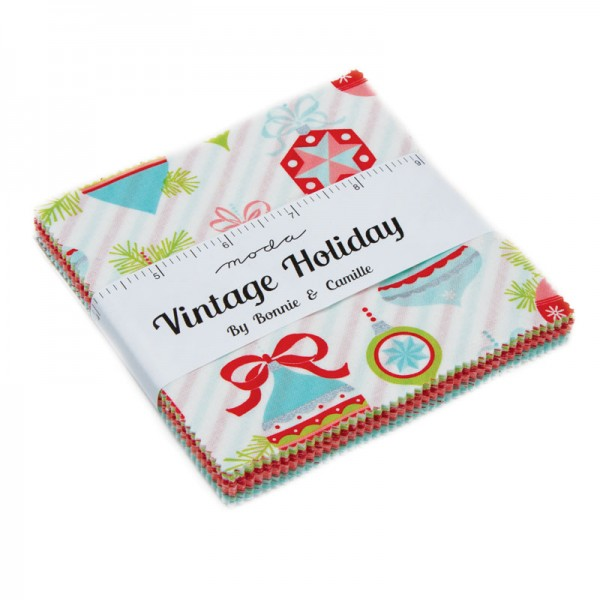Moda Vintage Holiday Charm Pack