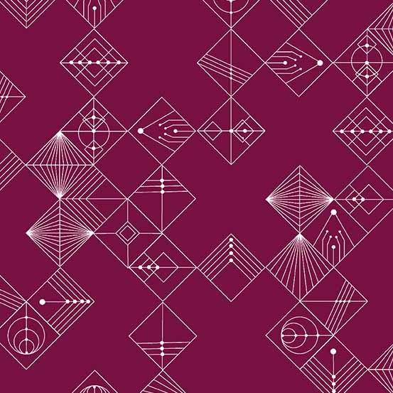 Deco Tiles (CS-31-Mulberry) von Giucy Giuce