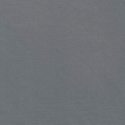 Kona Cotton - Graphite / Dunkel Grau