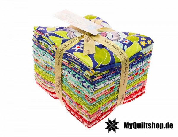 Riley Blake - Into The Garden Fat Quarter Bundle