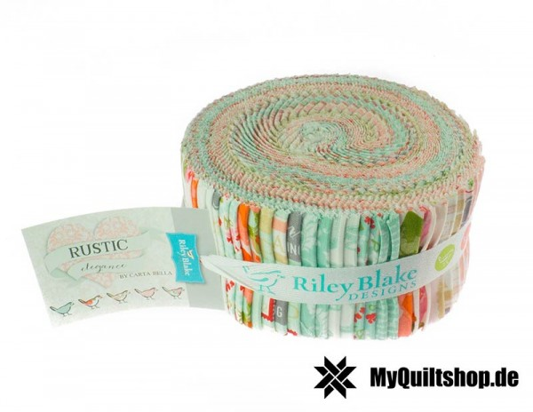 Riley Blake Rustic Elegance Jelly Roll