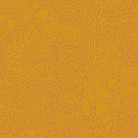 Stitched Penny (A-8450-O) Sun Print 2020 von Alison Glass