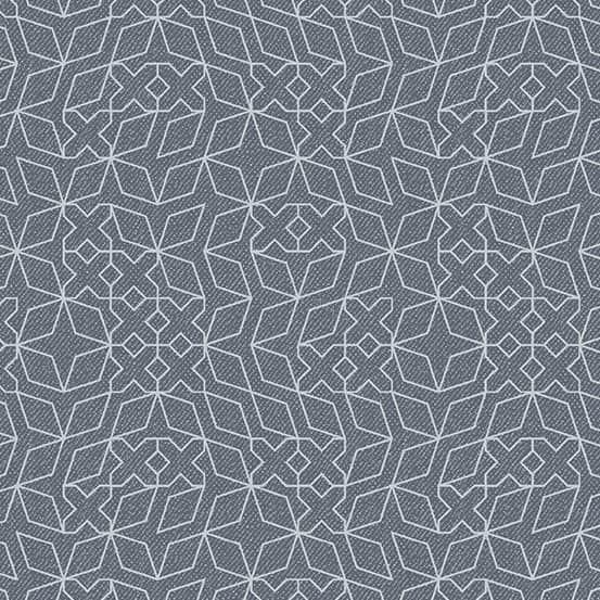 Stitch Concrete Metallic (A-9351-MC) Almost Blue von Libs Elliott