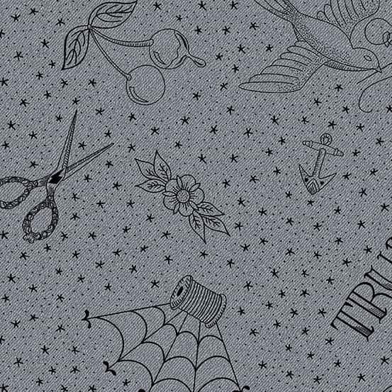 Draw Concrete (A-9348-K) Almost Blue von Libs Elliott