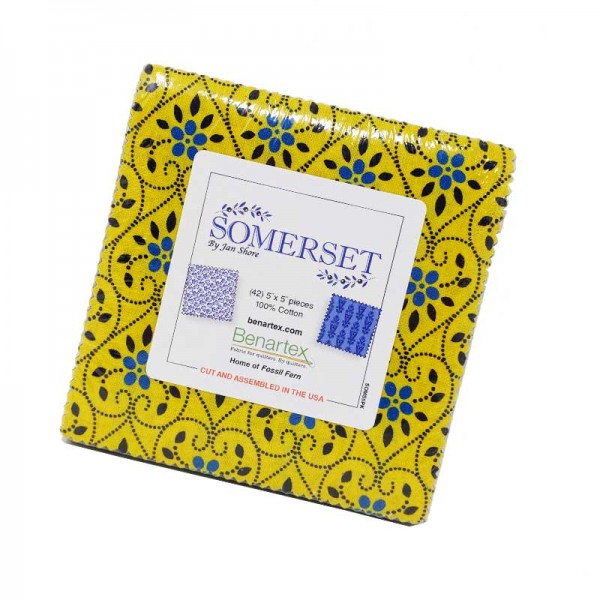 Benartex Somerset 5x5 Pack