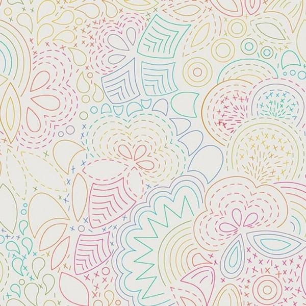Art Theory Stitched Rainbow (A-9702-L) von Alison Glass