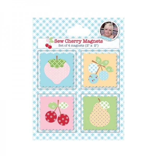 Riley Blake Lori Holt Sew Cherry Magnete