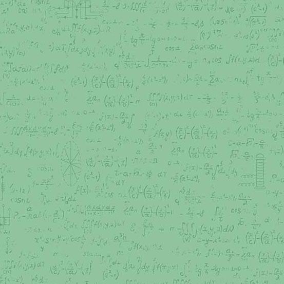 Color Theory Field Notes Aqua (A-9150-V) von Andover Fabrics