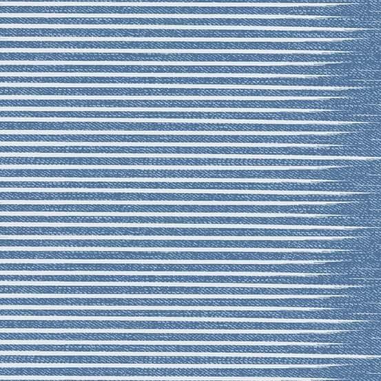 Stripe Vintage (A-9349-BL) Almost Blue von Libs Elliott