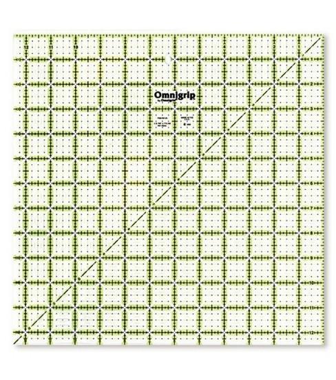 "Omnigrid - 12 1/2"" x 12 1/2"" Präzisionslineal (Non-Slip)"