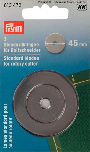 Prym - Ersatzklingen für Rollschneider 45 mm (3 St.)