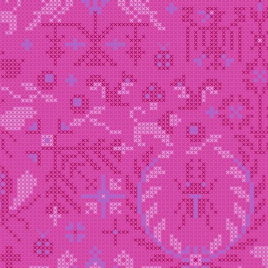 Menagerie Dahlia (A-9387-P) Sun Print 2020 von Alison Glass