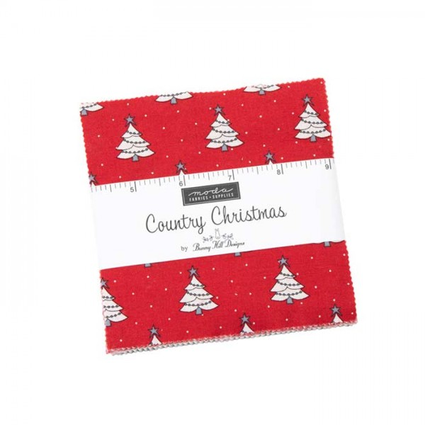 Moda Country Christmas Charm Pack