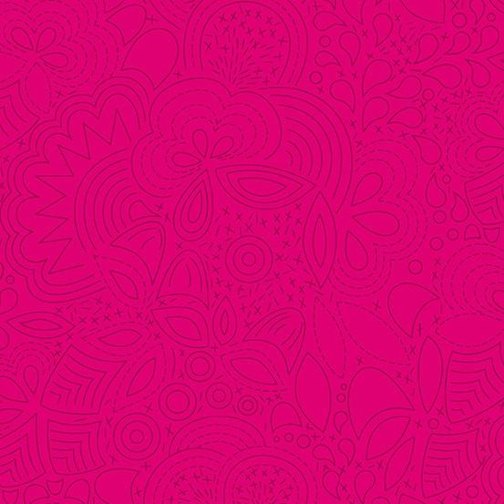 Stitched Iodine (A-8450-E1) Sun Print 2020 von Alison Glass