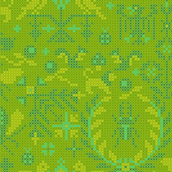 Menagerie Lichen (A-9387-G) Sun Print 2020 von Alison Glass