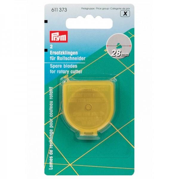 PRYM Ersatzklingen für Rollschneider 28 mm (2 St.)