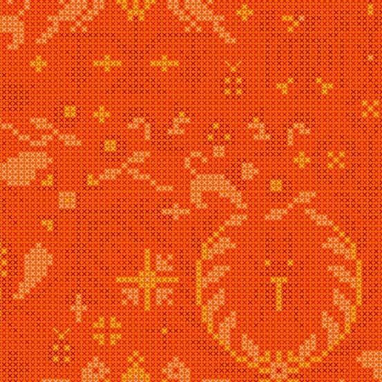 Menagerie Tiger (A-9387-O) Sun Print 2020 von Alison Glass