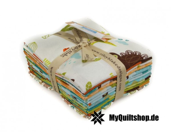 Riley Blake - Dinosaur Fat Quarter Bundle