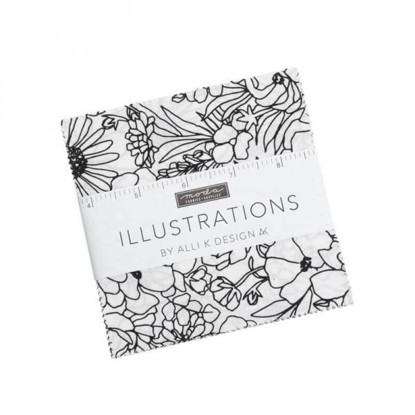 Moda Illustrations Charm Pack