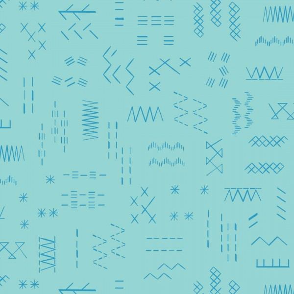 Great British Quilter Azure (GBQ1601-AZURE) von Dashwood Studio