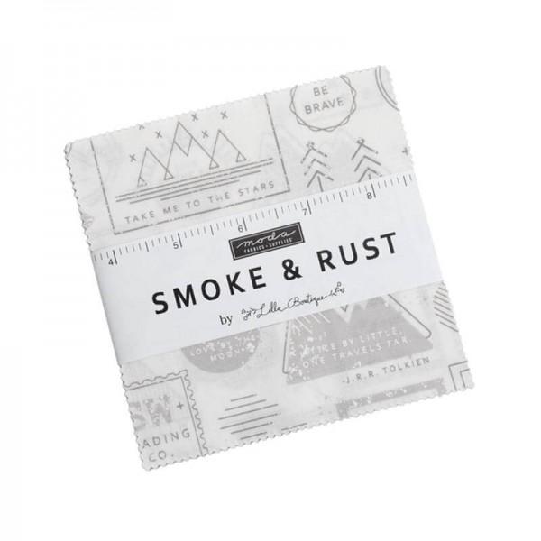 Moda Smoke & Rust Charm Pack