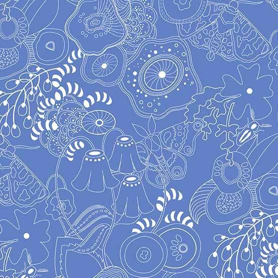 Hopscotch Grow (CS-20-BLUEBELL) von Alison Glass