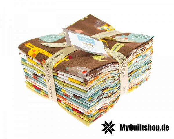 Riley Blake - Giraffe Crossing 2 Fat Quarter Bundle