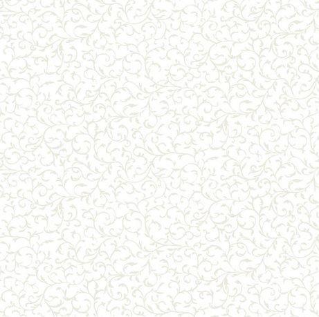 Essentials 2018 Scroll White/White (TP-706-W1) von Makower