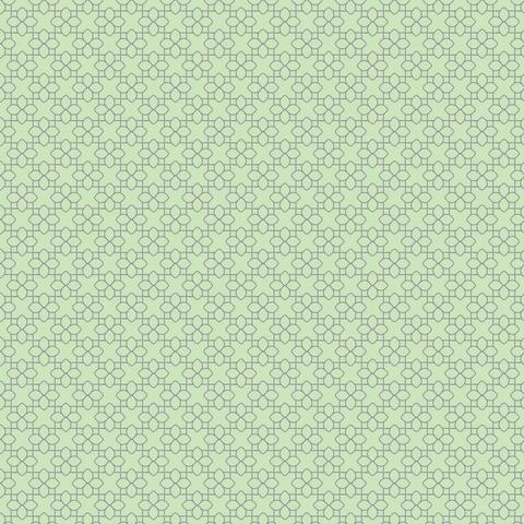 Fairy Edith Lattice Green (C8376-GREEN) von Riley Blake
