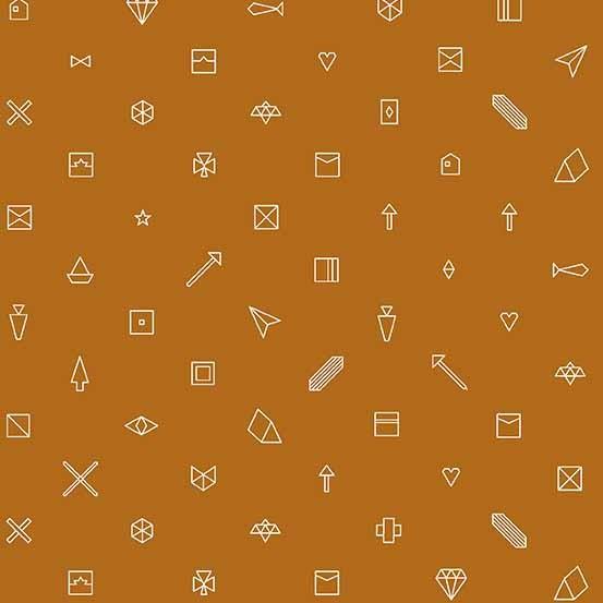 Hopscotch Trinkets (CS-23-GINGER) von Alison Glass