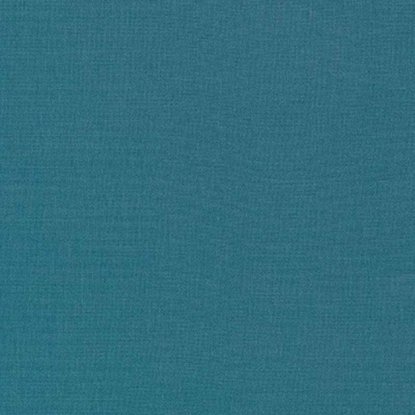 Kona Cotton Teal Blue 1373