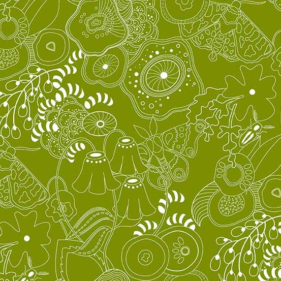 Hopscotch Grow (CS-20-GUACAMOLE) von Alison Glass
