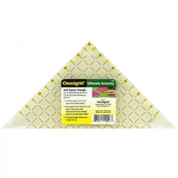 "Omnigrid 6"" Half Square Triangle Präzisionslineal"